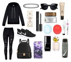 """""""Untitled #11"""" by tillybushell on Polyvore featuring Splendid, Michael Kors, NIKE, Accessorize, Chanel, Topshop, River Island, StriVectin, Bobbi Brown Cosmetics and Marc Jacobs"""