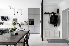 Inspiring and Stylish Monochrome Apartment - NordicDesign