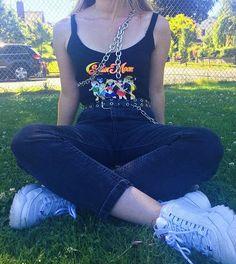 - ̗̀ saith my he A rt ̖́- Grunge Outfits, Grunge Fashion, 90s Fashion, Trendy Outfits, Cool Outfits, Girl Fashion, Fashion Outfits, Fashion Weeks, Paris Fashion