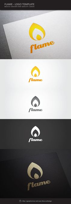 Flame Logo on Behance