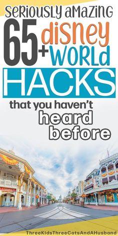 65 Walt Disney World Vacation Hacks, Tips, and Tricks (November 2019)