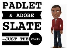 This 'just the facts' guide contains step-by-step instructions, tips, and screenshots for you to learn how to use Adobe Slate & Padlet.  Adobe Slate is a free iPad app that lets you create and publish gorgeous web pages.  Your Slate story can include headings, text, quotes, hyperlink buttons, and images.