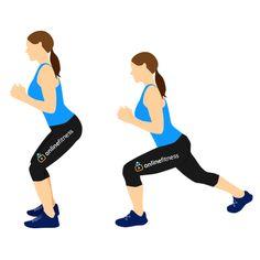 Krásnější zadek se cviky, které jsou šetrné pro kolena | Blog | Online Fitness