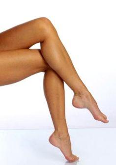 Sexy feet & long legs!