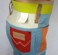 70S CLOTHES FROM PETER MAX | 1960s Peter Max for wrangler Patchwork Bell Bottom Jeans New Old Stock ...