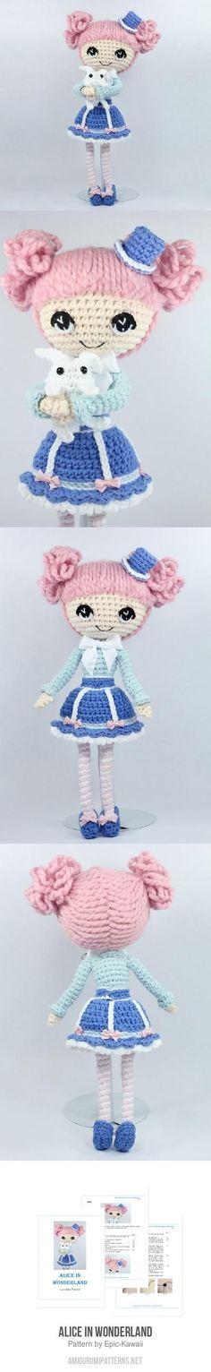 Alice In Wonderland Amigurumi Pattern