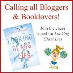 Book bloggers & Booklovers  Tryouts posted! I'm looking for avid readers to give an honest review on Amazon and Goodreads. Each cheerleader will receive an ebook in March, and reviews are requested the week of May 2. You'll also gain access to the Looking Glass Lies Cheer Squad Facebook group where you'll receive your pompoms and megaphone (in the form of links and memes) to share with your friends and followers.  To tryout: Send me a PM with your qualifications. Thanks!