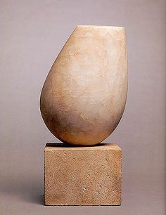 Constantin Brancusi (1876-1957, Romania) - Torso of a Young Girl, 1922