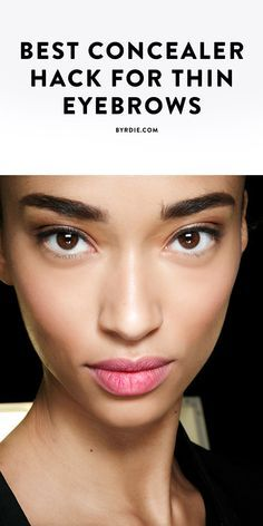 A genius hack for filling in thin brows
