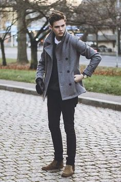 Topman Coat, August Brand Watch, August Brand Gloves