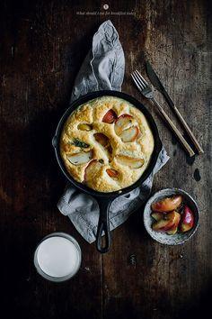 omelete de maçã com queijo cheddar e tomilho, a receita ideal para um óptimo pequeno-almoço de fim-de-semana   casal mistério   Bloglovin'