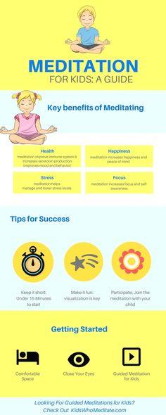 Meditation for kids: A guide to meditation for children #MeditationAndMeditationAgain! #YogaforKids