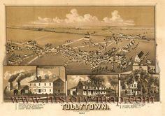 Tullytown, Pennsylvania 1887