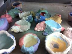 elementary art ed clay lessons