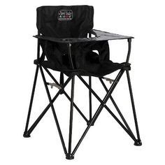 Ciao Baby Portable High Chair is the go anywhere high chair! This High Chair is a practical solution for active families on the go! This portable high chair is great for outdoors, camping, the beach, travel, grandma's house and small spaces! Travel High Chair, Portable High Chairs, Portable Bed, Camping With A Baby, Baby Camping Gear, Toddler Camping, Jeep Camping, Camping Store, Camping Parties
