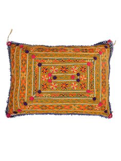 Bukhara Embellished Pillow 11 from One-of-a-Kind Pillows