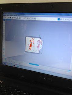 Fricotes da Juju: Transformando o desenho em boneca