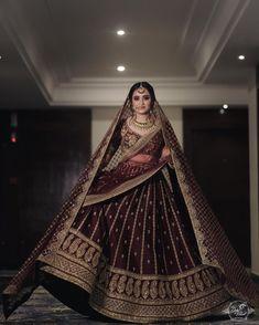 Indian Bridal Outfits, Indian Bridal Lehenga, Indian Bridal Fashion, Indian Bridal Wear, Indian Designer Outfits, Indian Dresses, Sabyasachi Lehenga Bridal, Shadi Dresses, Indian Designers
