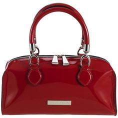Coccinelle Medium Spazzalato Grab Bag, Red found on Polyvore