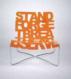 #Typography + #Furniture