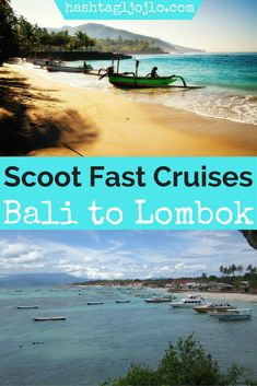 Are you looking for something to do in Bali? If so, come check out the Scoot Fast Cruises from Bali to Lombok. It was an interesting experience with both pros and cons. Come see what we liked about the Scoot Fast Cruises and what you need to know before you go. Make sure you save this boat transportation in Bali to your board so you can find it later. #bali #lombok #scootfastcruises
