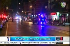 El Gobernador Del Estado De New York Afirmo Que La Explosión De El Sábado Fue Un Acto De terrorismo