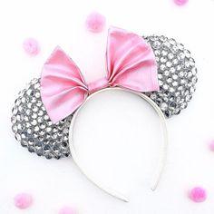 Disney Inspired Diamond Rhinestone Minnie Mouse Ears
