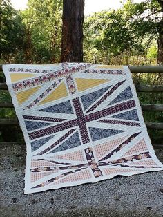 Rock n Romance Jack Attack done! by Lynne @ Lilys Quilts, via Flickr
