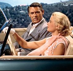 Grace Kelly & Cary Grant - To Catch a Thief (Hitchcock, 1955) #YankeeCandleOfficial #RivieraEscape