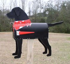 Image detail for -Handmade Dog Mailboxes - Unique Handmade Novelty Dog Mailboxes Made in ...