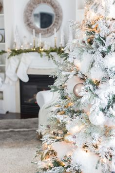 Christmas family room decor from MichaelsMakers Craftberrybush