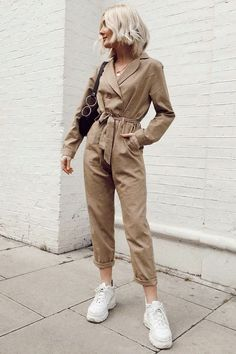 Fitted Jumpsuit, Jumpsuit Outfit, Summer Jumpsuit, Overalls Outfit, Cute Fashion, Fashion Outfits, Womens Fashion, Stylish Outfits, Cute Outfits