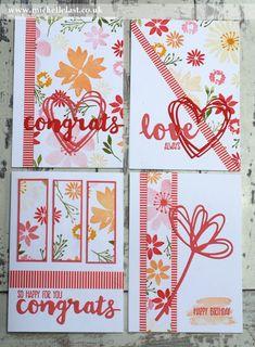 One Sheet Wonder using Blooms & Wishes