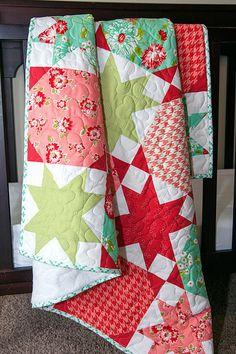 Starstruck quilt pattern by Vanessa Goertzen of Lella Boutique. #sew #quilting #meissnersewing