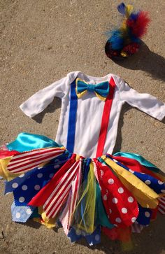 Circus+outfit+Clown+Outfit++ringmaster+tutu++shabby+by+LilNicks,+$37.49