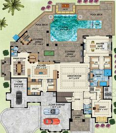 Two Master Bedrooms - 31839DN   1st Floor Master Suite, 2nd Floor Master Suite, Bonus Room, Butler Walk-in Pantry, CAD Available, Corner Lot, Den-Office-Library-Study, Elevator, European, Florida, Loft, Luxury, PDF   Architectural Designs