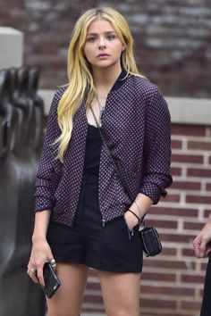Chloe Moretz Toughens Up Her Look With A New Septum Piercing And Tattoo