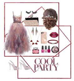 """pink"" by bellanindia on Polyvore featuring Gucci, Etro, Rebecca Minkoff, Lime Crime, John Hardy, Jacquie Aiche, OPI and Miss Selfridge"