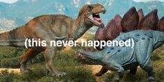 There was more time elapsed between the Stegosaurus and the T-Rex, than between the T-Rex and YOU. (The Stegosaurus lived million years ago, while the T-Rex lived only million years ago.) Just another fragment of the Big Picture.