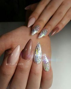 #nailart #gelnails #art #glitter