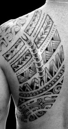 Tatouage Polynésien » Tattoo Polynésien Homme