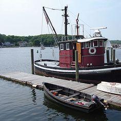 Tugboat, Mystic, Connecticut