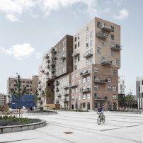 Wohnhochhaus von ADEPT in Kopenhagen / Würfelspiele - Architektur und Architekten - News / Meldungen / Nachrichten - BauNetz.de