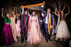 Photographer - The Bride Kriti! Photos, Hindu Culture, Black Color, Bridal Makeup, 3 Piece Suits For Men, Mangtika pictures, images, vendor credits - Geetanjali Salon, Raju Mehandi Wala, Amanpreet Photography, WeddingPlz