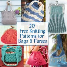 Free Knitting Patterns Bags Totes Purses : striped ripple crochet bag - free pattern Scrap knitting and crocheting P...
