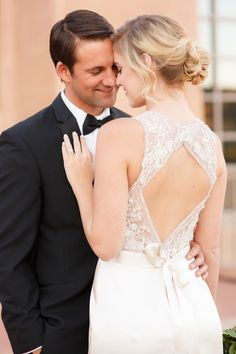 Timeless Blush and Gold Wedding Ideas via TheELD.com