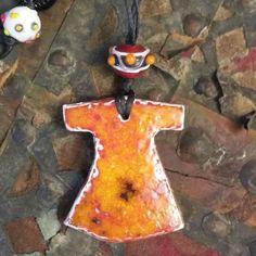 Kaftan - El yapımı seramik ve boncuk dizisi  #kolye #necklace  Sipariş için DM  To order DM