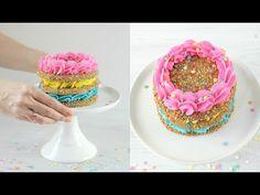 Sprinkle COOKIE Cake! - CAKE STYLE - YouTube