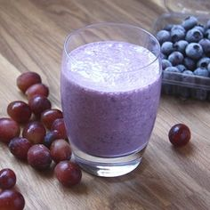 Blueberries, grapes and bananas combined to make an amazingly good smoothie. I didn't add any additional sweeteners and this was a very sweet smoothie. My boys and I thought this was a delicious treat. This is now one of our favorite smoothie combinations. Print Blueberry Grape Banana Smoothie Ingredients 2 cups milk 2 bananas frozenRead More