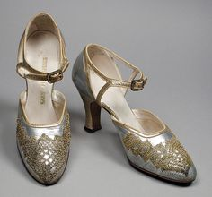 Pair of Woman's Sandals  Saks Fifth Avenue (United States, California, Los Angeles, founded 1924)  United States, circa 1926
